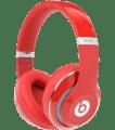 Red Apple Beats Studio2 Headphones