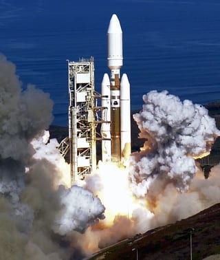 The final Titan 4 launch. Image via Lockheed-Martin