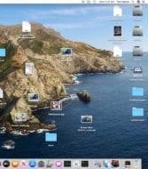 Messy macOS Desktop
