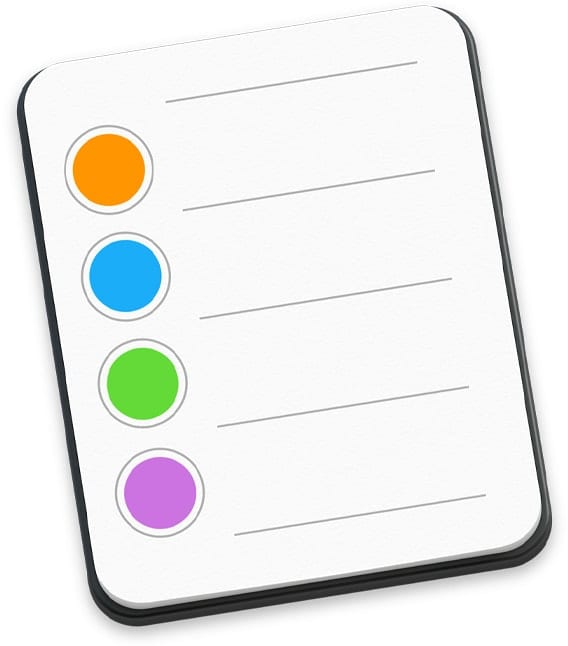 Mac Reminders App icon