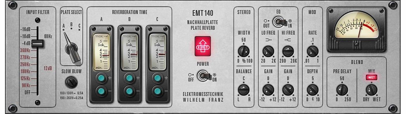 UAD EMT 140 Plate Reverb
