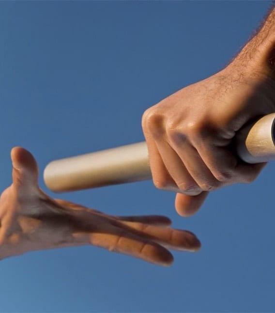 handoff baton