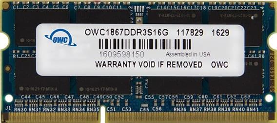 OWC 1867MHz DDR3 memory