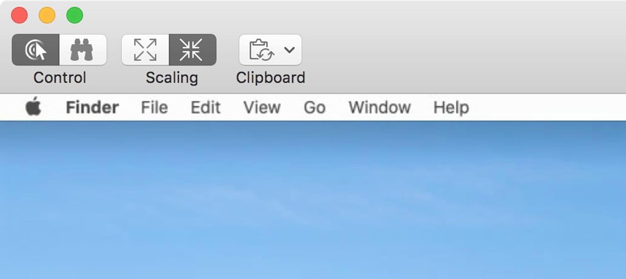 Screen Sharing toolbar.