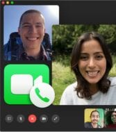 Facetime app view with icon