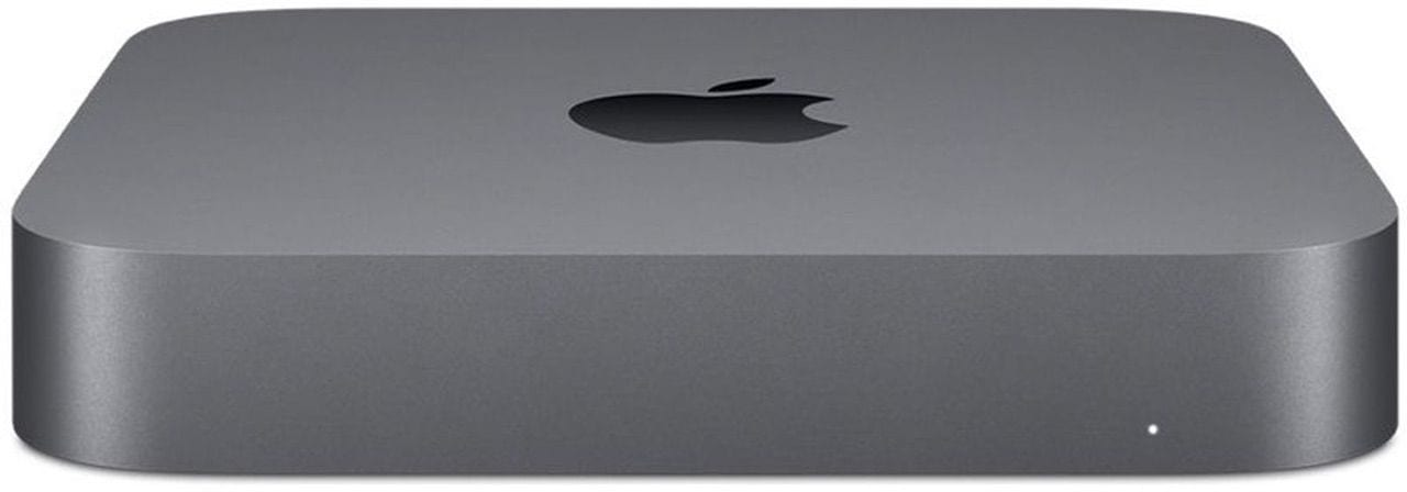 The Mac mini, unchanged on the outside but with double the storage inside