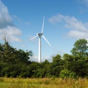 OWC's wind turbine in Woodstock