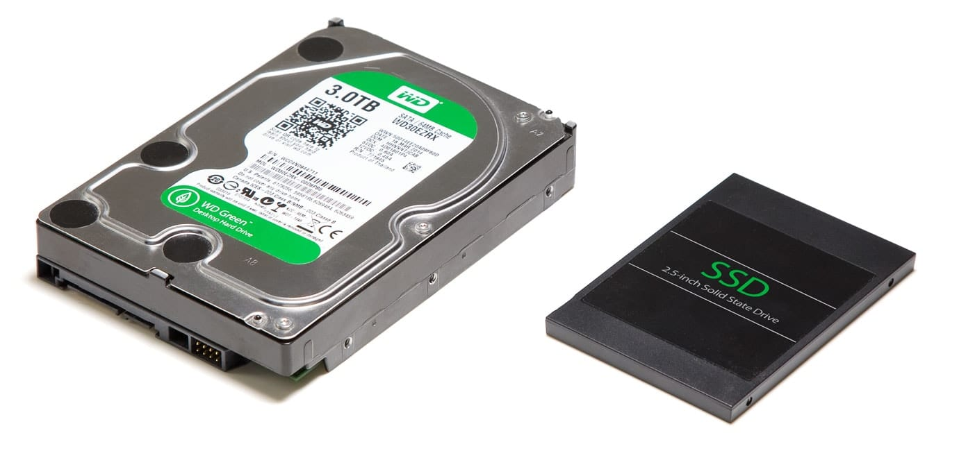 Hard Drive and SSD