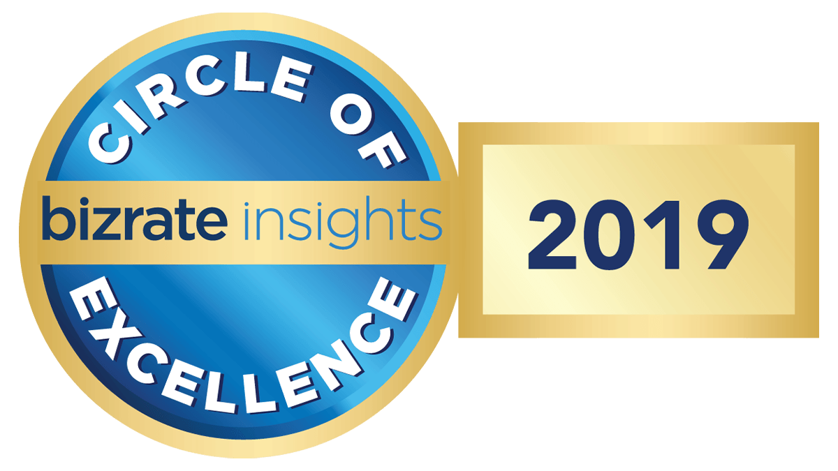 bizrate insights circle of excellence award 2019 badge
