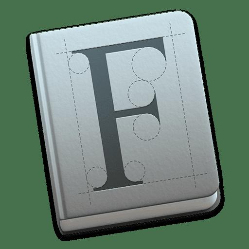 Mac FontBook Icon