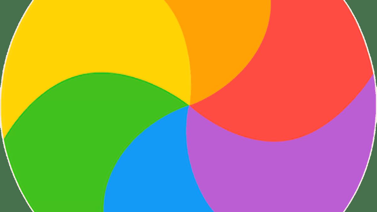 masOS Spinning Beachball Pinwheel