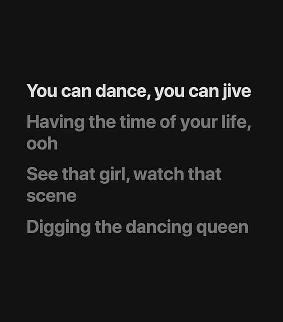 lyrics to dancing queen by abba