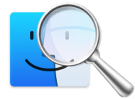 mac finder and search icons