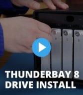 OWC ThunderBay 8 Drive Installation