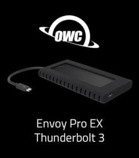 OWC Envoy Pro EX Thunderbolt 3