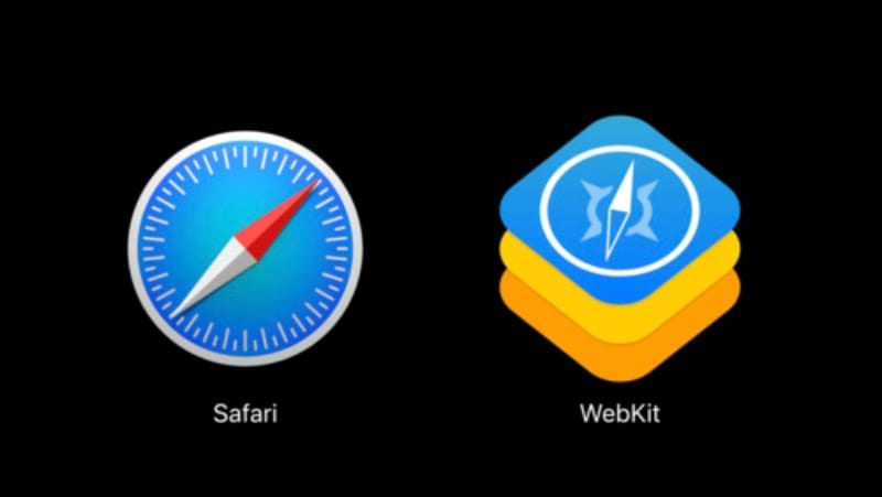 safari and webkit icons