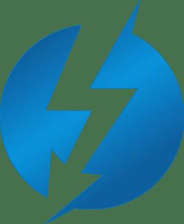 Transparent Thunderbolt Logo