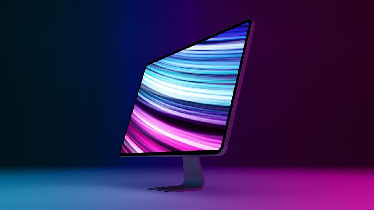 2020 iMac mockup. Image via MacRumors.com