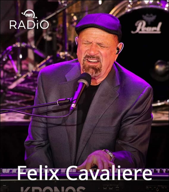 Felix Cavaliere from the Young Rascals playing keyboards