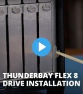 OWC Thunderbay Flex 8 drive installation