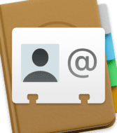 contacts and vcard icons