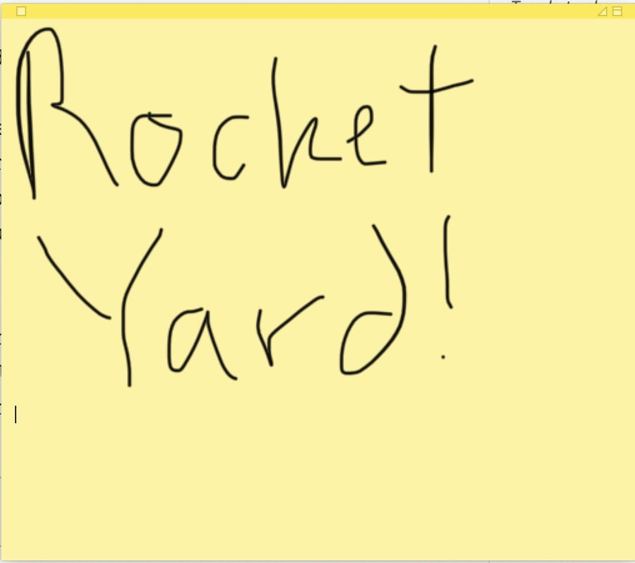 Sketch on an iPhone or iPad to make a handwritten sticky note