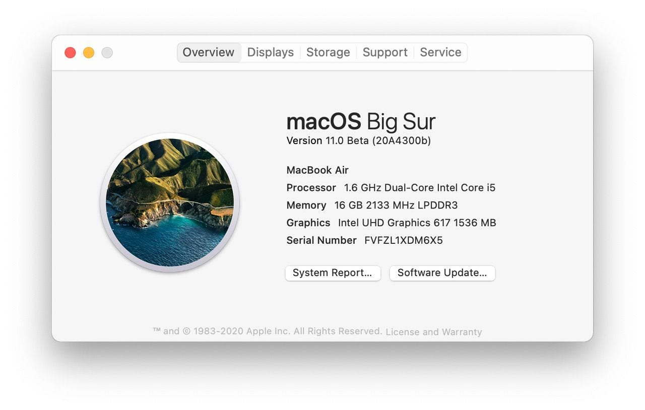 Success! And it's now macOS 11