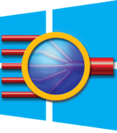 windows logo and softraid logo