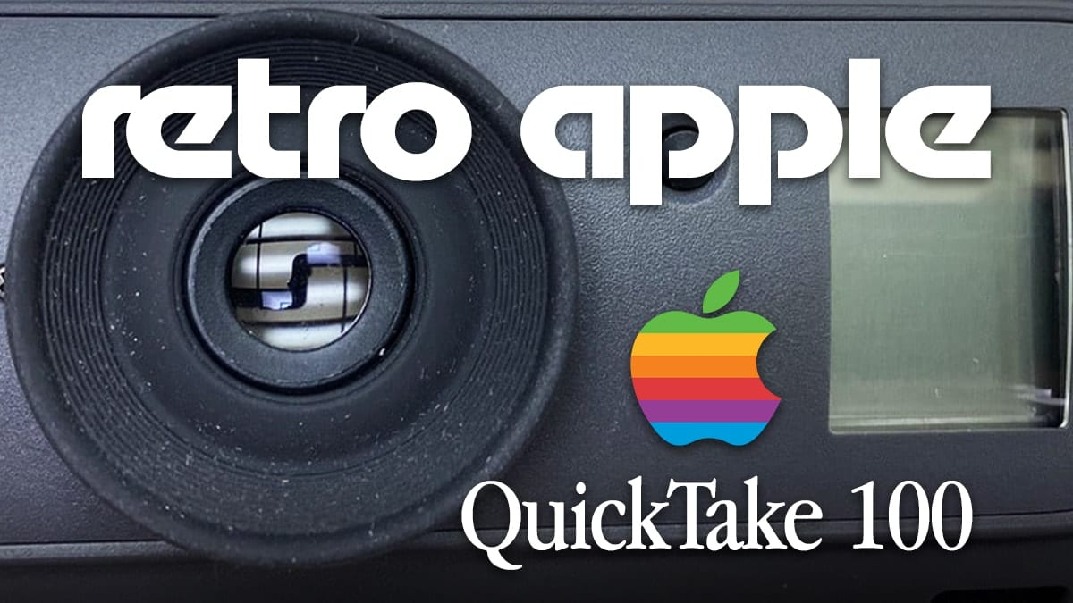 Apple QuickTake 100 digital camera