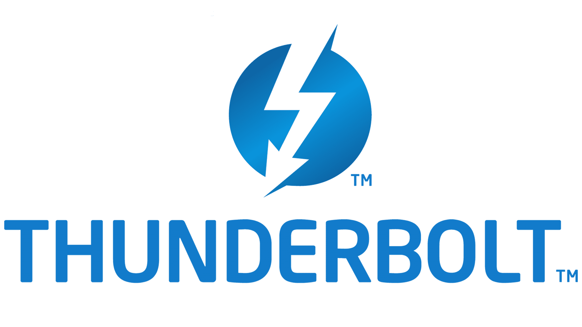Thunderbolt Logo Stacked