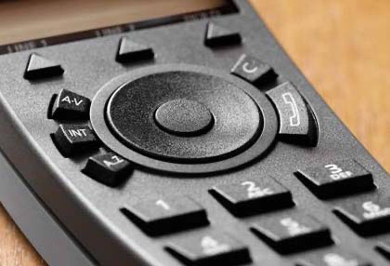 The first iPod borrowed the mechanical wheel control design on the Bang & Olufsen Beocom 1 cordless phone