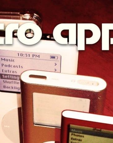 retro apple ipod