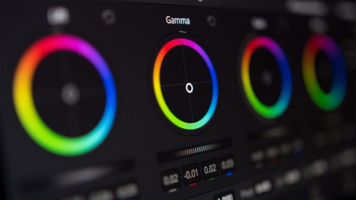 DaVinci Resolve Color Wheels