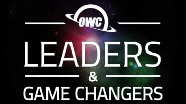 OWC Leaders & Game Changers podcast title slide