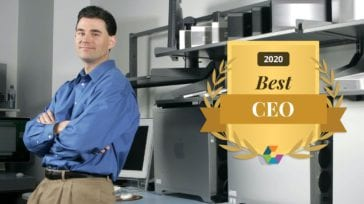 Larry O'Connor – 2020 Comparably Best CEO