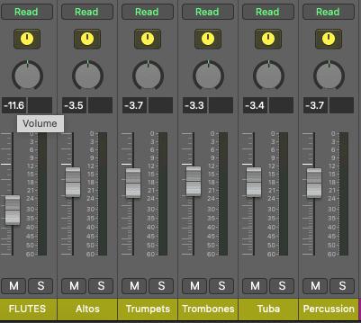 Sample Bus Mixes in Logic Pro X