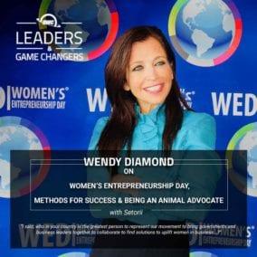 Wendy Diamond – Women's Entrepreneurship Day