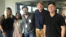 Steve Douglass with Filmmakers