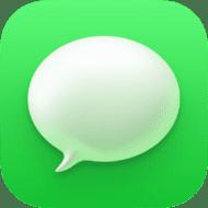 Messages App icon in macOS Big Sur