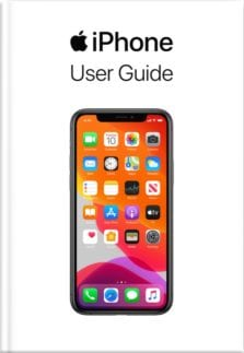 iphone user guide book cover