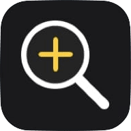 iPhone iOS Magnifier app icon