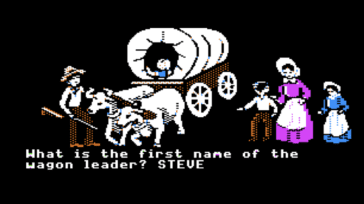 Oregon Trail – classic Mac game