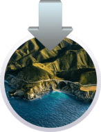 macOS Big Sur install icon with arrow