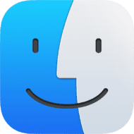 macOS Big Sur Finder Icon