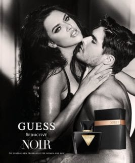 Man and woman guess perfume ad by photographer Josh Ryan