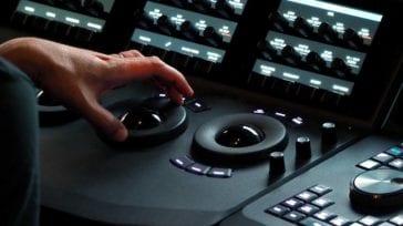 Video edit desk sfor color correction