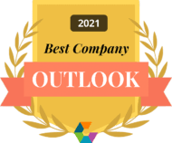 Comparably Best Company Outlook 2021 Badge