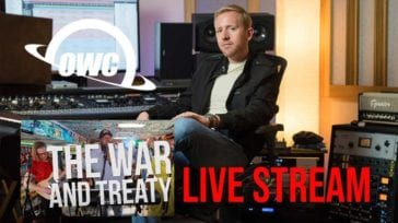 "Sean P. Jones mixes and masters ""The War and Treaty"" for Jam in the Van"