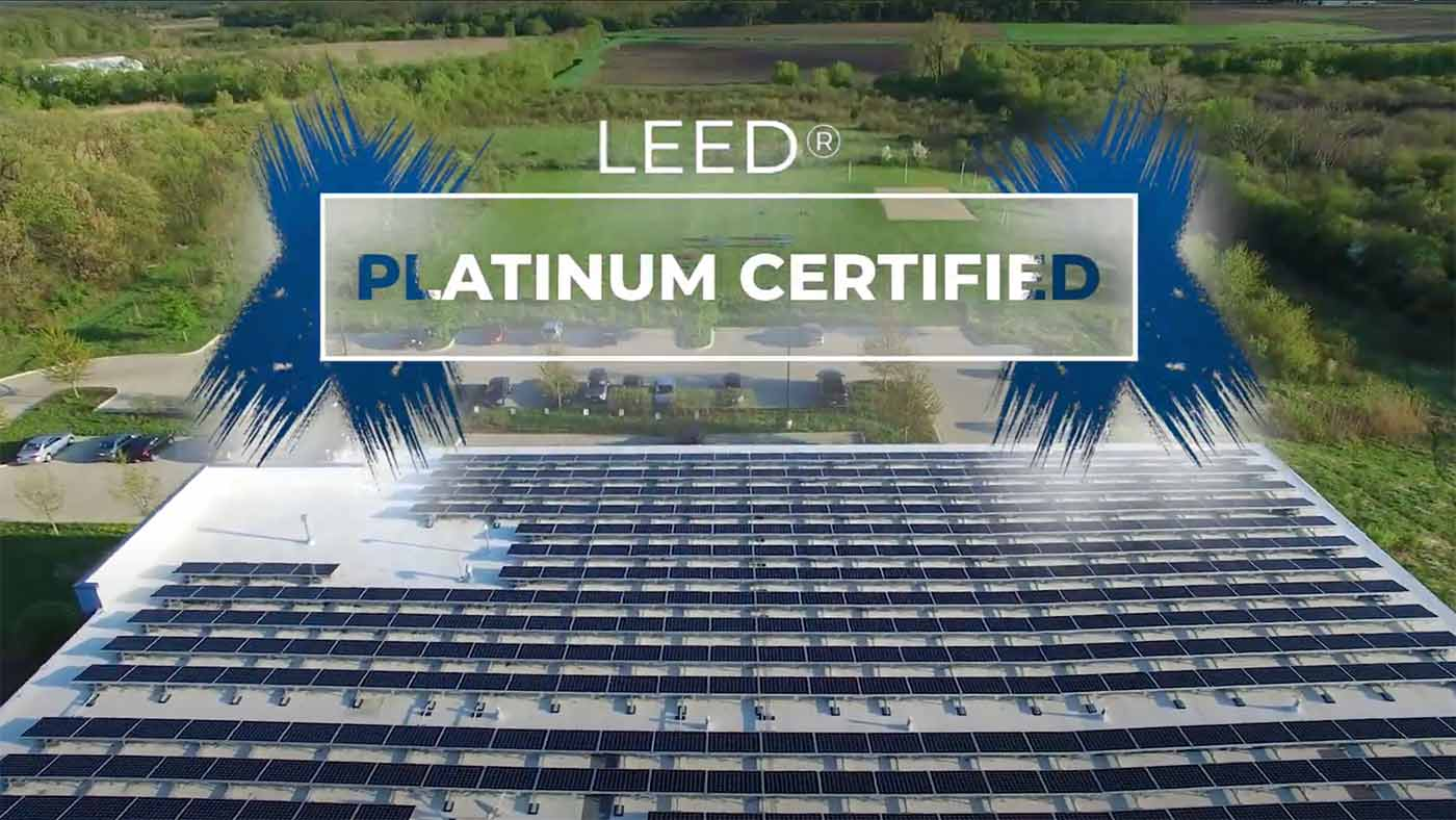 OWC Headquaters in Woodstock, Illinois – LEED Platinum certified