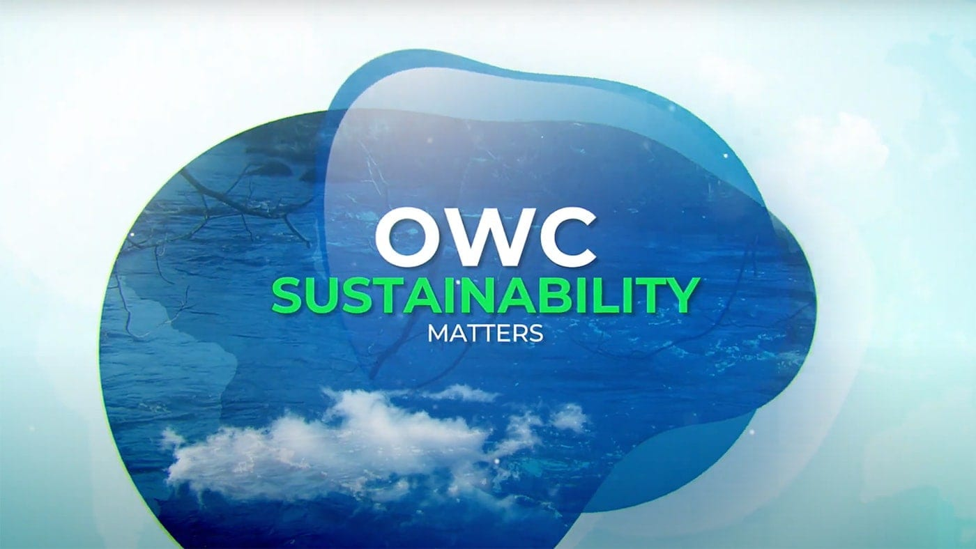 OWC Sustainability matters